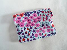 Fabric and duct tape purse