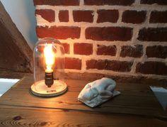 Lampe recup globe de mariés ampoule a filament : Luminaires par lampesoriginales