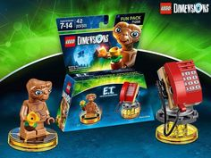 42 pcs | $11.99  There's no word on the release date.  LEGO Dimensions E.T. Fun Pack (71258)