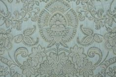 Robert Allen Siena Damask Upholstery Fabric in Spa $18.95 per yard