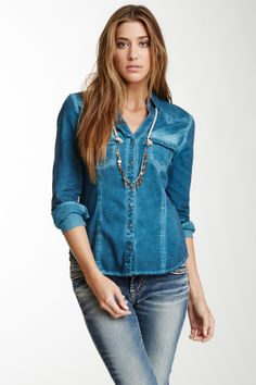 Stylish Jean Shirt  - Anky <3