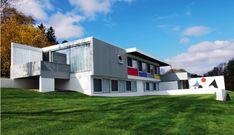 Marcel Breuer, The Stillman House, 1950-51. Lichfield, Connecticut, USA.
