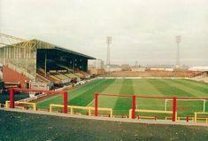 Fir Park, Motherwell in the Motherwell Fc, British Football, Football Stadiums, United Kingdom, Scotland, The Past, Park, Sports, 1990s