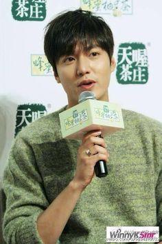 Lee Min Ho | Tenwow Tea Event in HongKong 140903