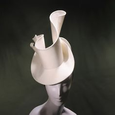 Stephen Jones Millinery - complete CV charting his hat-making career from 1979 to the present day. Millinery Hats, Fascinator Hats, Fascinators, The Water Is Wide, Stephen Jones, Fancy Hats, Love Hat, Fashion Project, Headgear