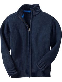 Old Navy | Boys Mock-Neck Zip Sweaters (Max)