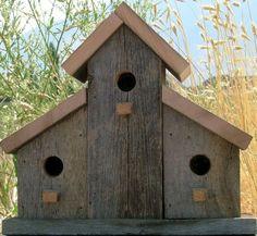 nice 33 Unique Wooden Bird Houses Design Ideas For Your Garden  http://decorke.com/2018/02/23/33-unique-wooden-bird-houses-design-ideas-for-your-garden/ #birdhouses #birdhousetips
