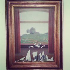 La clef des champs, Renè Magritte.  Museo Thyssen - Bornemisza