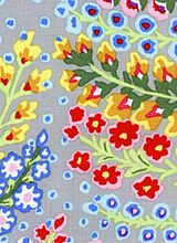"""""""Persian Vase, Grey""""  by rowan fabric"""