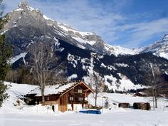 winter in switzerland kandersteg