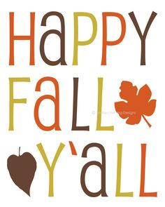 image about Happy Fall Yall Printable referred to as 67 Perfect Pleased Tumble YAll, pictures within just 2013 Tumble halloween