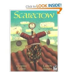 Best book on the planet to teach descriptive writing. I do several writing and craft projects with this. We also make our own scarecrow and place it in front of our bulletin board that has our writing, art and our favorite quotes from this beautiful book. Probably my favorite lesson of all time.