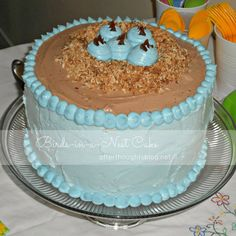 Afterthoughts: The Birds-in-a-Nest Cake {Tutorial}