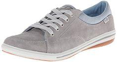 Keds Women's Vollie LTT Suede Fashion Sneaker, Grey, 5 M US Keds http://www.amazon.com/dp/B00HZVSB1M/ref=cm_sw_r_pi_dp_7ySqvb1T9PSP4