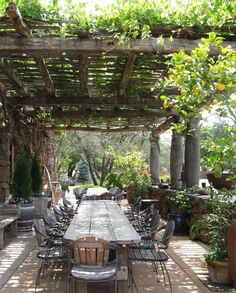 garden ideas | outdoor dining