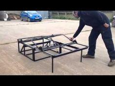 VW T4 & T5 Rock n Roll Beds - VW T4 / T5 Bed - VW Rusty Lee