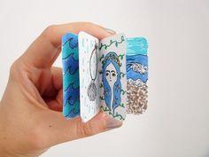 Sea themed minizine