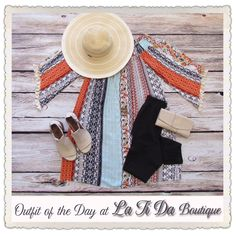 #ootd #outfitoftheday striped colorful dress only $39 #osfa leggings $24 #otbt #offthebeatentrack peep toes #hatchhats #cutnpaste wallet find it all @latida_boutique or online at www.latidaboutique.net  Link to entire outfit in bio.   . . . #shopsmall #shoplocal #fashion #boutique #personalshopper #freeshipping #cutedress #thatsdarling #igfashion #instafashion #weloveourcustomers #letsgoonvacation #haveadrinkonthebeach #thatdress 👗👗👗