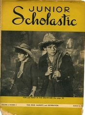 A vintage Junior Scholastic from March of 1938!