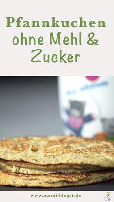 Ja, ich habe es geschafft. Und zwar habe ich ein Rezept für gesunde Pfannkuchen kreiert, das ohne Mehl und Zucker auskommt. Wie das geht? Mit diesen drei Zutaten …
