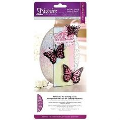 Crafter's Companion Die'sire Create a Card Metal Die - Butterfly Swirls