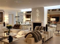 New Zealand-born designer Alison Henry, the owner of the house on Chelsea Square, London, SW3 - Savills Estate Agents
