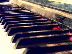What I live for. music, piano, notes ,everything.