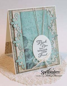 Victorian Paper Queen: Spellbinders and the New Sapphire Machine and dies...