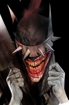 batman who laughs 2 Ben Oliver - Bleeding Cool News And Rumors Evil Batman, Batman Art, Superman, Comic Book Artists, Comic Books Art, Comic Art, Dark Knights Metal, Ben Oliver, Batman Metal