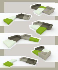 Homebox Modular Apartment with Modular Furnitures
