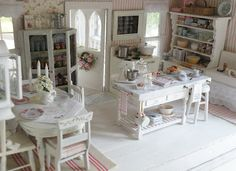 Cynthia's Cottage Design--Doll house...  Very interesting to search Pinterest for Doll Miniatures--tons of photos.