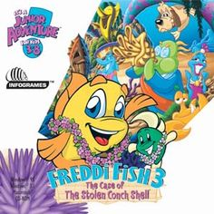 11 old computer games that you loved as a kid kid putt for Freddi fish online
