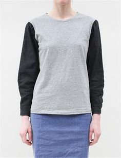 Cosmic Wonder Crew Neck Blouse-Light Black