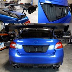 APR Performance has just released a new Carbon Fiber GTC-300 rear wing and carbon license plate backing for the 2015 and up Subaru WRX and STI. Contact us for pricing  Sales@Vividracing.com  1-866-448-4843  #Subaru #STI #WRX #vividracing #aprperformance #carbonfiber #subarulove #subaruporn #subaruwrx #subarusti