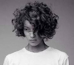 Image result for short curly hair 2016