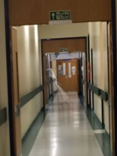 Alleged ghost sighting in Leeds General Infirmary