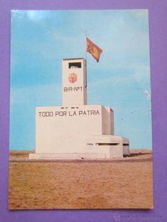 Postales: Postal Nº 100.Batallón de Instrucción de Reclutas Nº 1 Aaiun .Sahara. - Foto 1 - 46309225