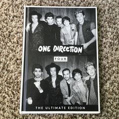 """One Direction """"Four"""" BOOK ONLY ❗️LAST CHANCE❗️ No CD included. This is the book that comes with the Ultimate Edition of One Direction's album. Mint condition! Other"""