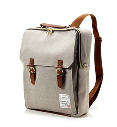 Golden Square Backpack (Brown)
