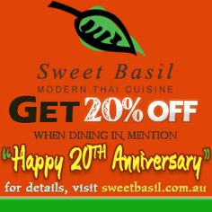 Buy cheap deal from Sweet Basil (sweetbasil.com.au)
