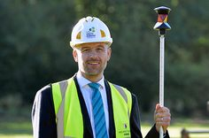 September 2015 Principal Tom Dower at ground breaking