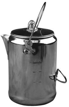 2cac2ff7e36 Amazon.com  Coleman 9-Cup Aluminum Coffee Pot  Sports  amp  Outdoors