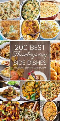From cheesy casseroles to roasted vegetables, you will find many delicious Thanksgiving side dishes that will be the highlight of your Thanksgiving feast 200 Best Thanksgiving Side Dishes Best Thanksgiving Side Dishes, Thanksgiving Desserts Easy, Holiday Side Dishes, Thanksgiving Feast, Traditional Thanksgiving Food, Thanksgiving Vegetables, Best Side Dishes, Thanksgiving Crafts, Mozzarella Sandwich