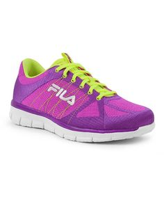 Fila Running Shoe $36.99 #fitness #workout #running #shoes #sneakers #gym #purple