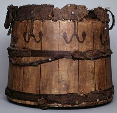 A Yewwood Bucket from the Sutton Hoo Dig found 1939   More Info Below in Comments