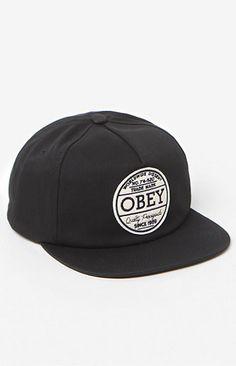 OBEY Deuce Snapback Hat  27.95 f82df875a5b7