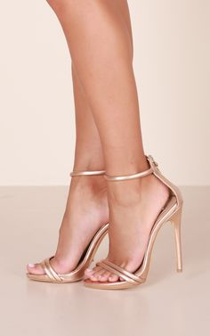 Liana by Billini is an on-trend stiletto heel. It features a two strapped, toe strap design, gold back zip fastening and open toe styling. This is an effortless must have style that will inject instant cool to your look. Stilettos, Pumps Heels, Stiletto Heels, Heeled Sandals, Women's Shoes, Shoe Boots, Golf Shoes, Dance Shoes, Studded Heels