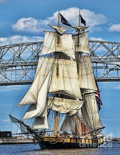 Tall Ship Duluth Minnesota by Dale Erickson - Tall Ships Festival, Duluth, MN - Tall Ships Duluth, Tall Ships Festival, Bateau Pirate, Old Sailing Ships, Duluth Minnesota, Wooden Ship, Set Sail, Water Crafts, Surf