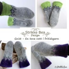 Discover recipes, home ideas, style inspiration and other ideas to try. Mittens Pattern, Knit Mittens, Handycraft Ideas, Knitting Yarn, Knitting Patterns, Knitting Ideas, Knit Crochet, Diy And Crafts, Slippers