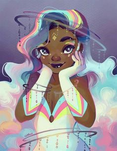 "editorincreeps: "" prinnay: "" Newest (fake) issue of Magical Girl Monthly is out. The goddess issue :D � I want this magazine. � AHHHH this artist is so lovely and amazing and talented! Black Girl Art, Black Women Art, Art Girl, Black Art, Black Girl Cartoon, Black Girl Magic, Magical Girl, Pretty Art, Cute Art"